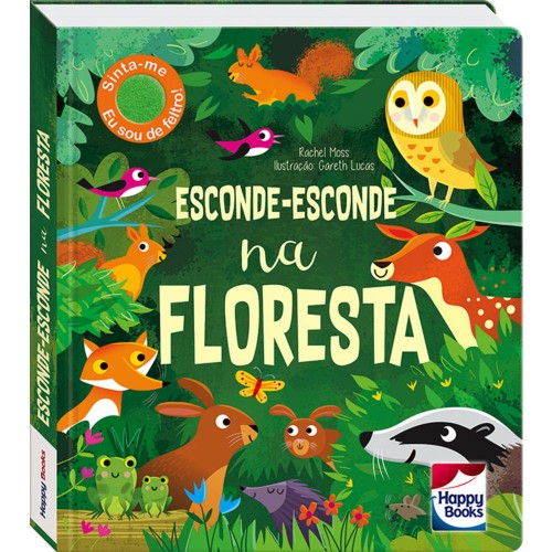 HAPPY - ESCONDE-ESCONDE - NA FLORESTA