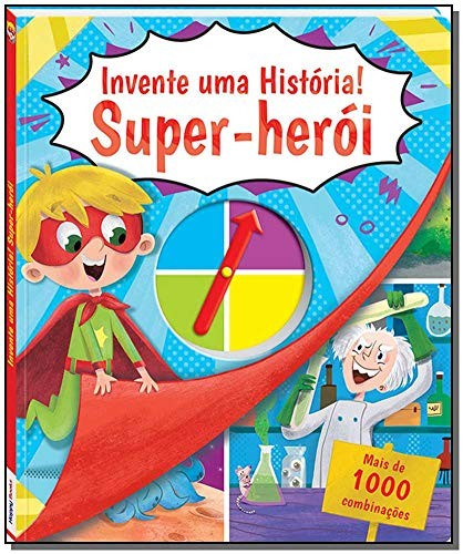 HAPPY - INVENTE UMA HISTORIA - SUPER HERO