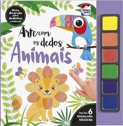 HAPPY - ARTE COM DEDOS - ANIMAIS